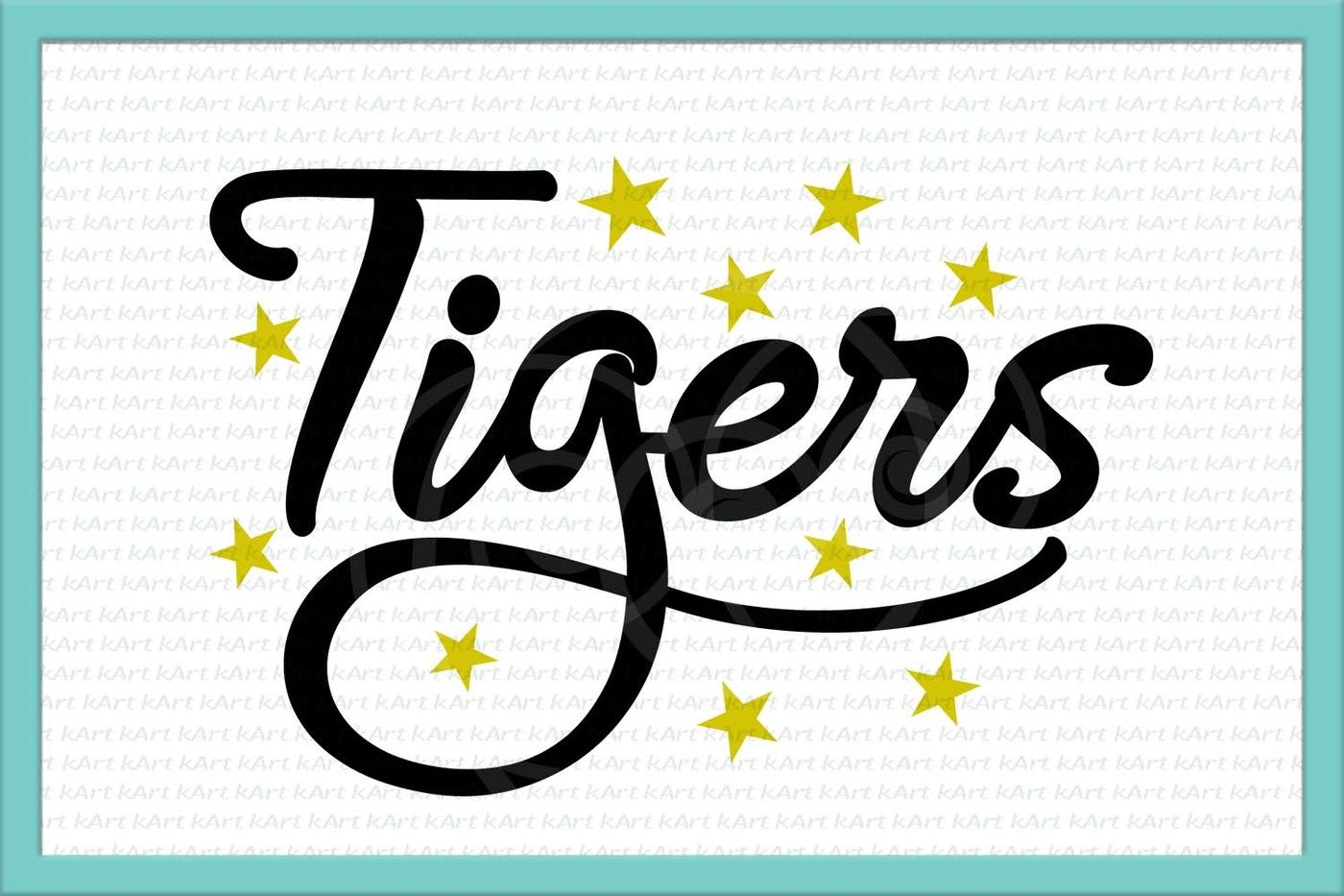 graphic relating to Printable Detroit Tigers Schedule titled tigers svg, tigers soccer svg, soccer svg, tiger