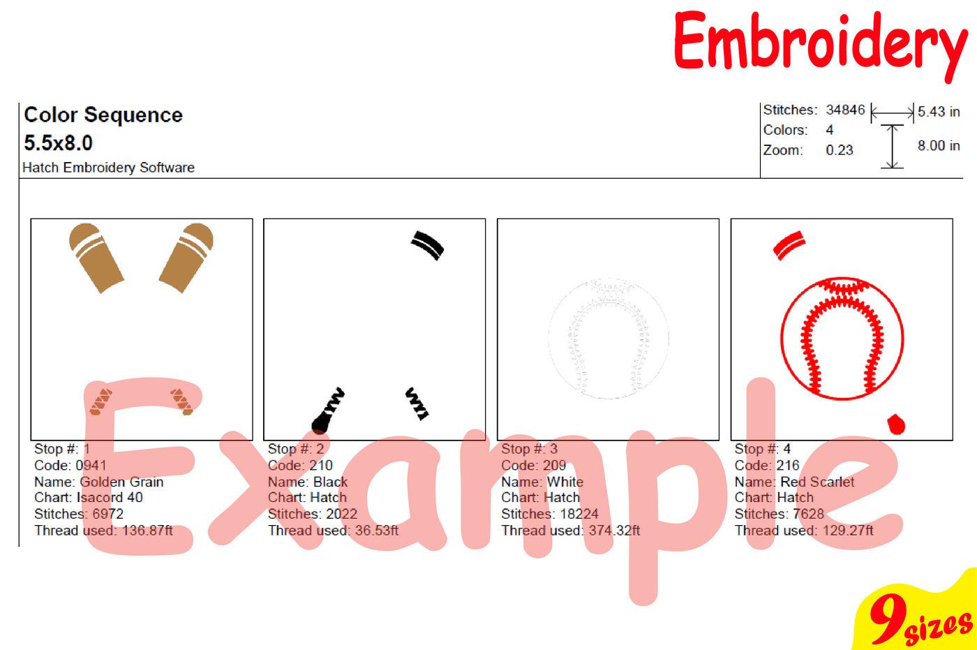 Digital File 4X4 5X7 Hoop - BerkshireRegion