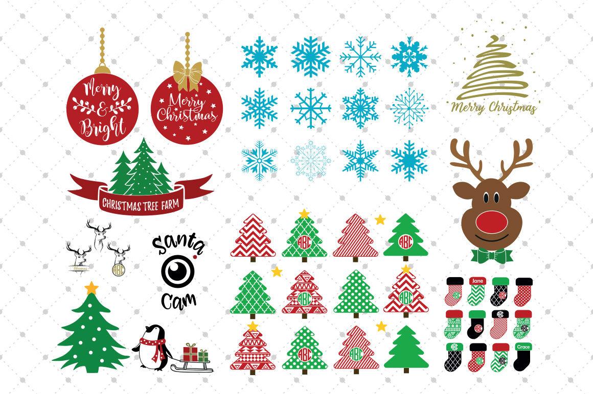 Christmas Bundle Svg Files By Svg Cut Studio Thehungryjpeg Com
