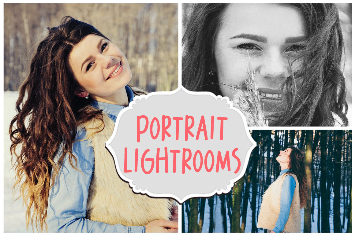30 Portrait Lightroom Presets INSTANT DOWNLOAD Give your Photographs