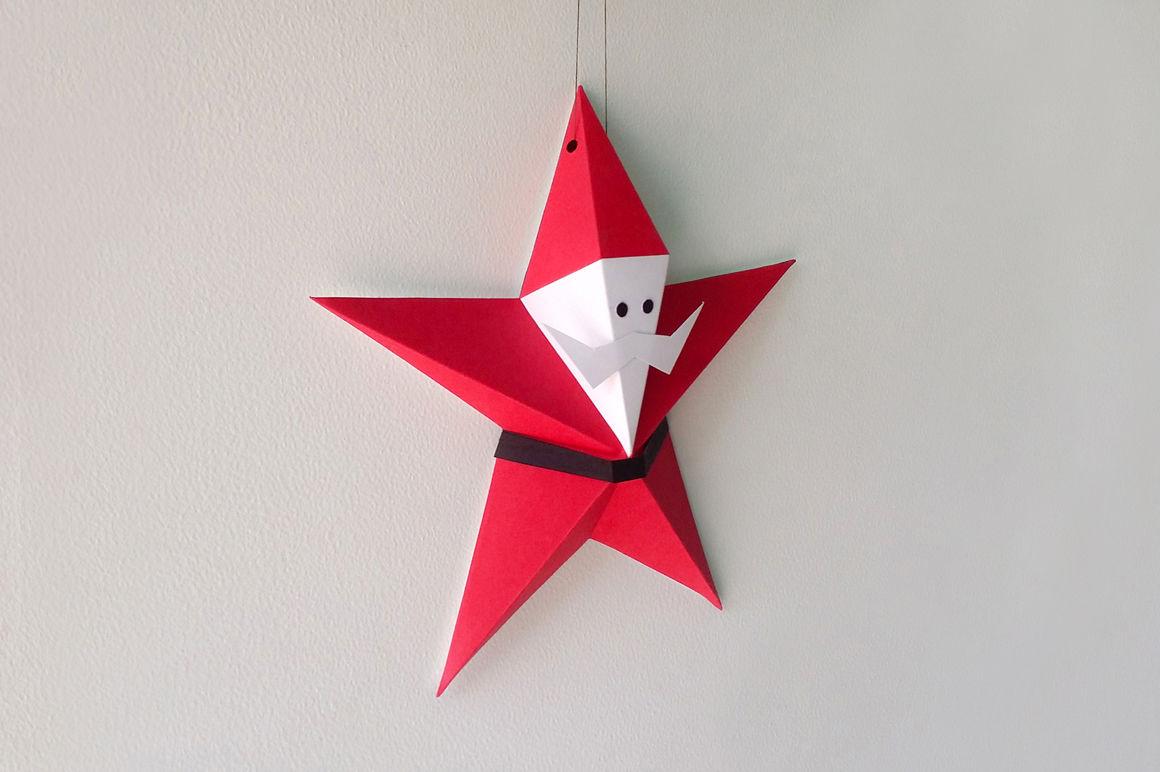 3d origami santa claus tuto - Google Search | Origami santa ... | 772x1160