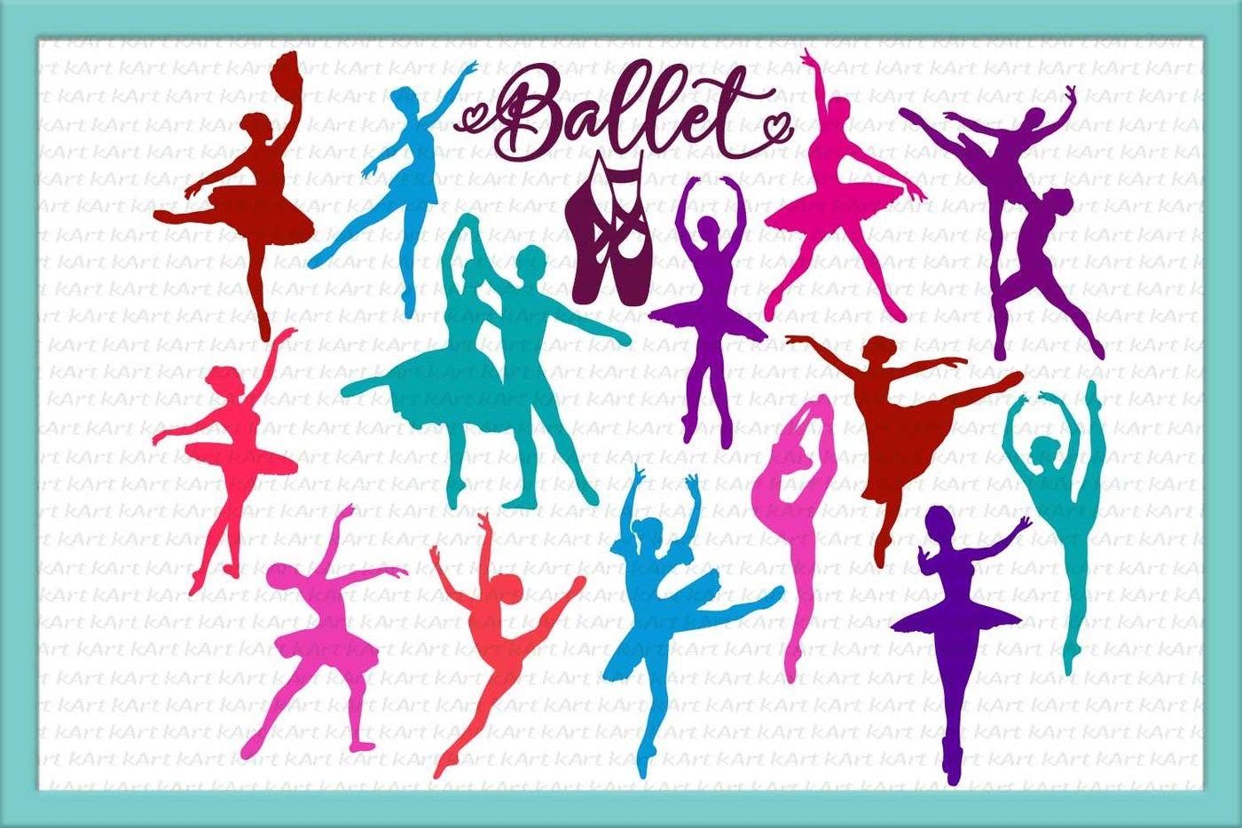Ballet Svg Dancer Svg Dancers Svg Cut Files Ballerina Svg Ballet Shoes Svg Dance Svg Silhouette Files Ballet Clipart Dxf Eps Png By Kartcreation Thehungryjpeg Com