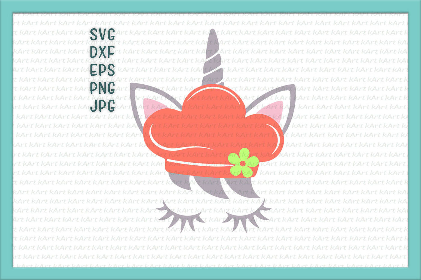 Unicorn Svg Unicorn Face Svg Unicorn With Eyelashes Svg Unicorn