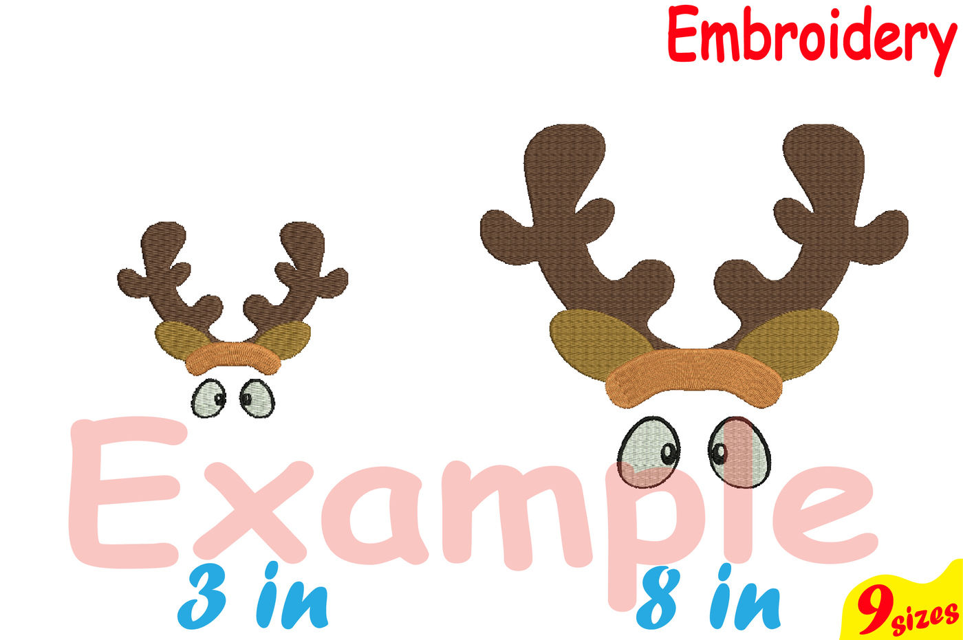 Christmas Designs For Embroidery Machine Instant Download Commercial Use Digital File 4x4 5x7 Hoop Icon Symbol Sign Santa Claus Bow Reindeer Horns 93b By Hamhamart Thehungryjpeg Com