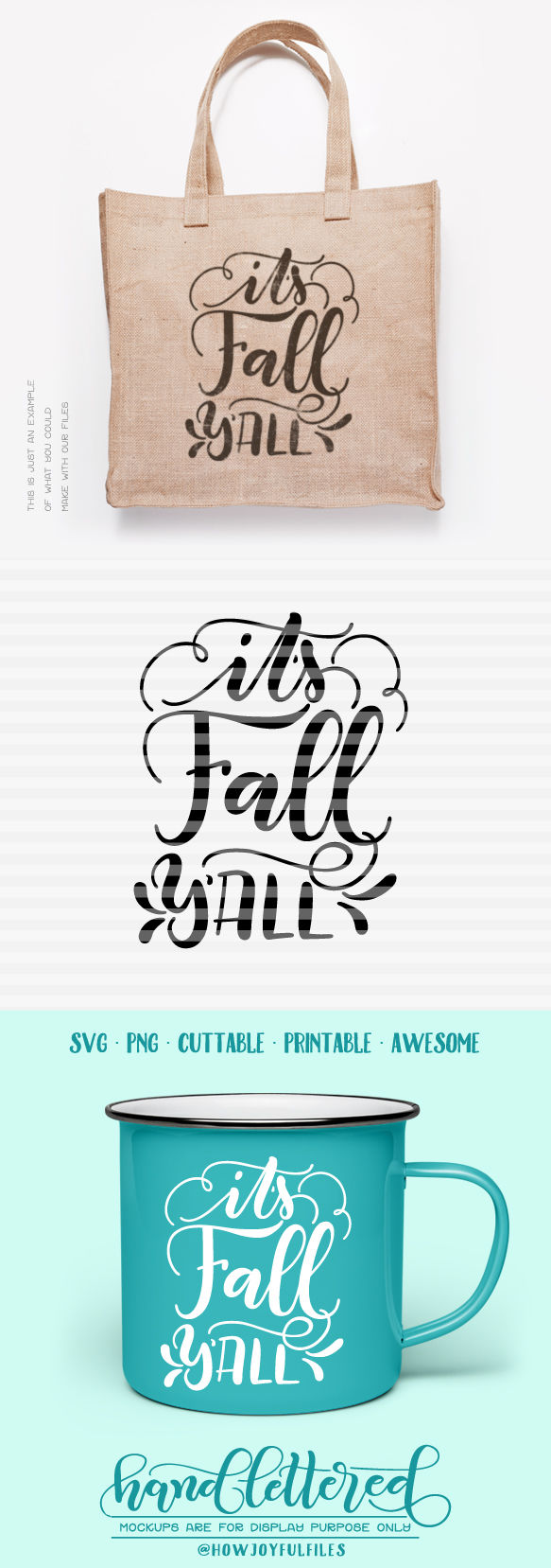 It S Fall Y All Autumn Fall Svg Dxf Pdf Files Hand Drawn Lettered Cut File Graphic Overlay By Howjoyful Files Thehungryjpeg Com