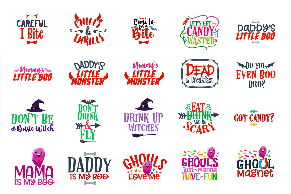 Halloween Quotes Svg.Halloween Bundle 106 Halloween Quotes Sayings In Svg Dxf