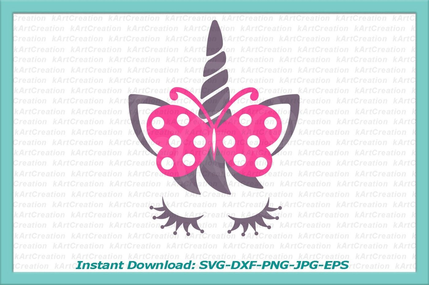 Unicorn Face Svg Unicorn Svg Unicorn Silhouette Head Unicorn