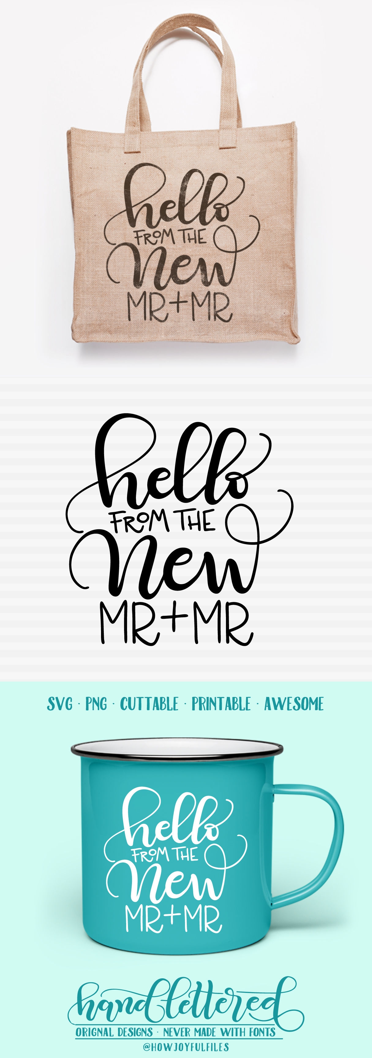 Hello From The New Mr Mr Svg Pdf Dxf Hand Drawn Lettered Cut File Graphic Overlay By Howjoyful Files Thehungryjpeg Com