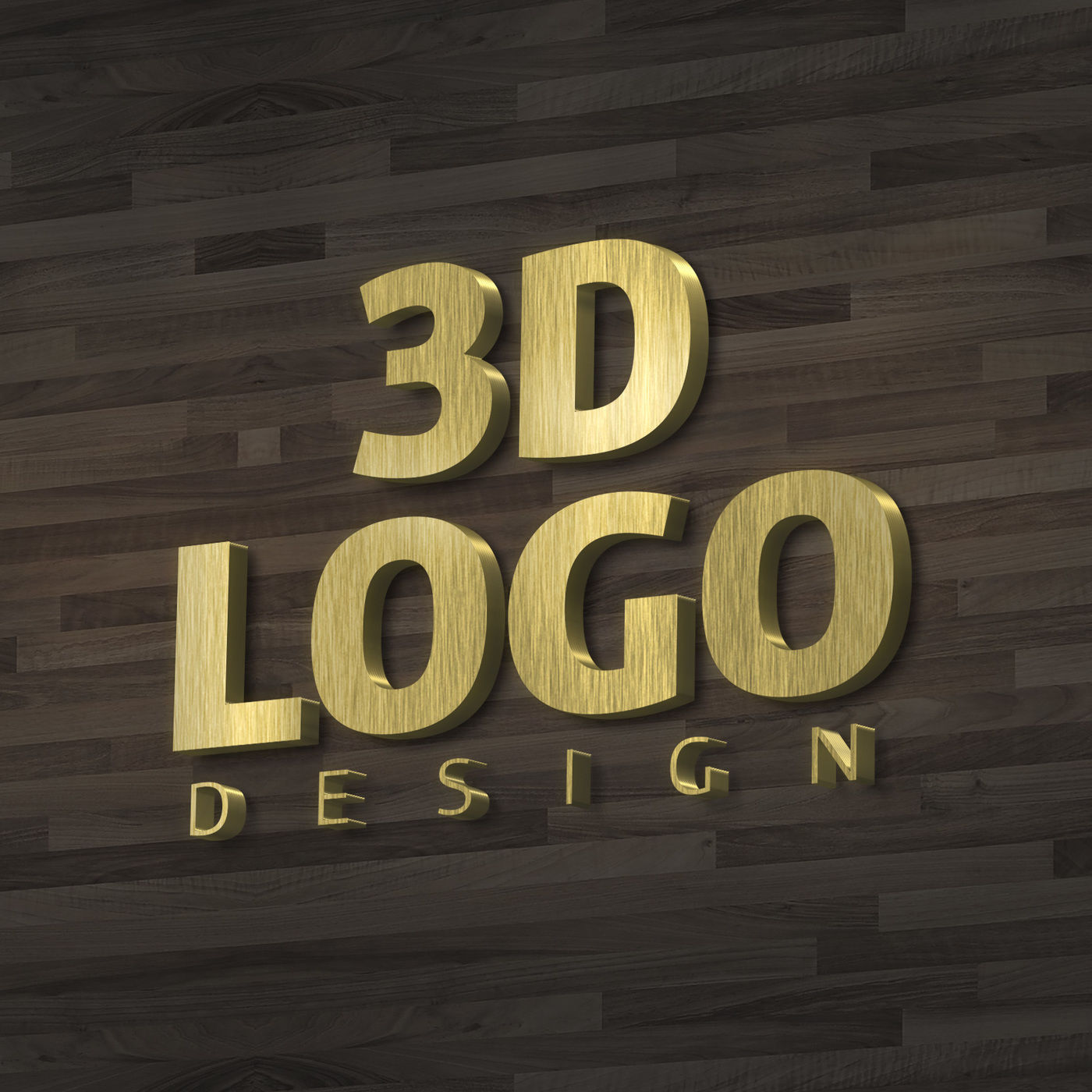 3d Logo Mockup Free Psd Download