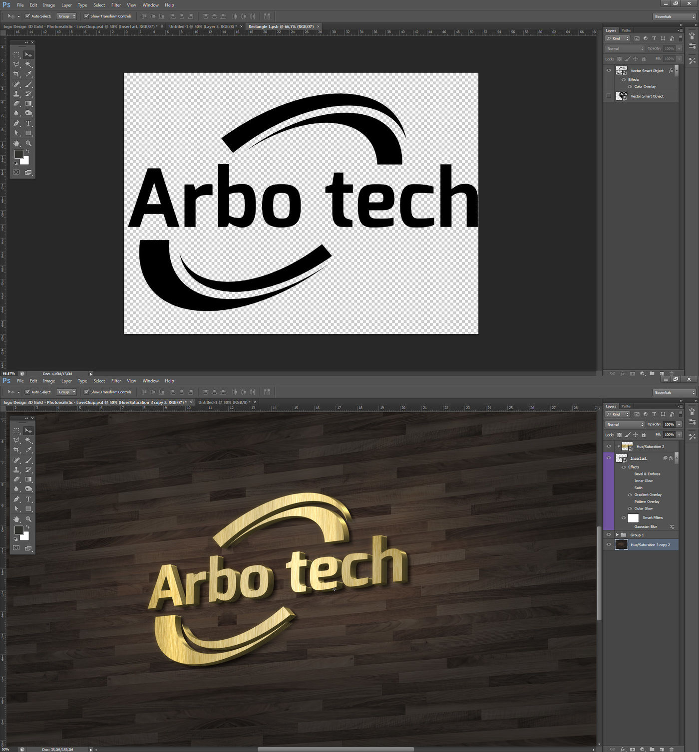 lettering 3D Mockup Gold By Milan Mockup | TheHungryJPEG com