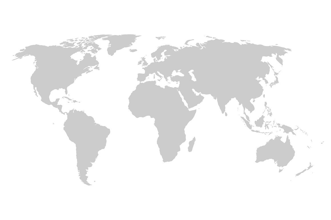 Vector World Map Continents By Expressshop Thehungryjpeg Com