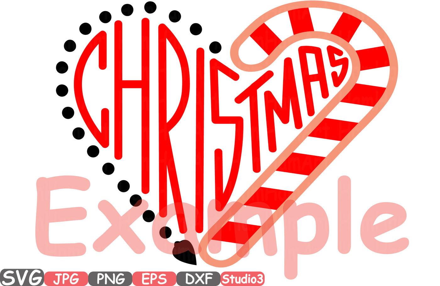 Christmas Heart Monogram Silhouette Svg Cutting Files Digital Clip Art Graphic Studio3 Cricut Cuttable Die Cut Machines Santa S Magic Love Holiday Winter 63sv By Hamhamart Thehungryjpeg Com