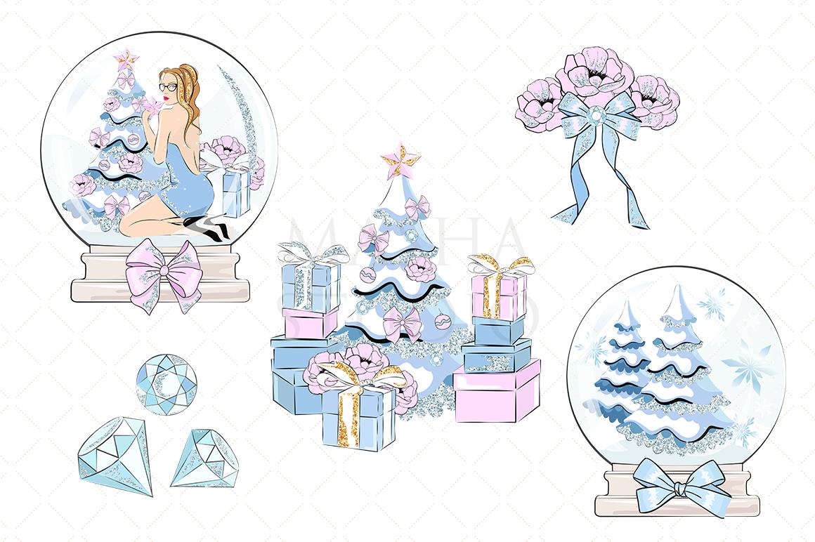 Christmas Wishes Clipart By Masha Studio Thehungryjpeg Com