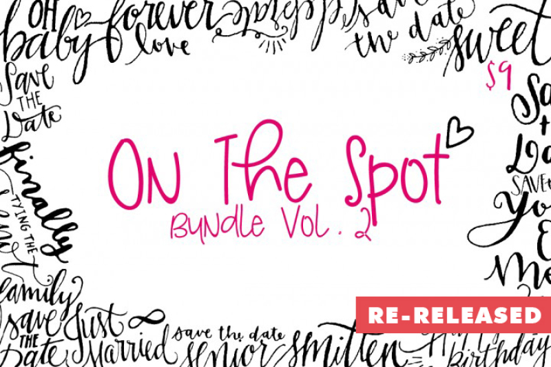 The On The Spot Bundle Vol 02 By Thehungryjpeg Thehungryjpeg Com