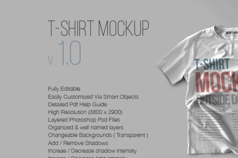 Tee Shirt Psd Mockup