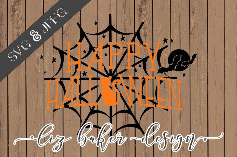 Free Happy Halloween Cut File By Thehungryjpeg Thehungryjpeg Com