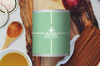 FREE Canned Jar Mockup