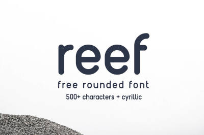 Free Font: Reef Typeface