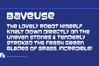 FREE Baveuse Font
