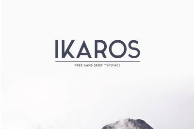 Free Font: Ikaros Typeface