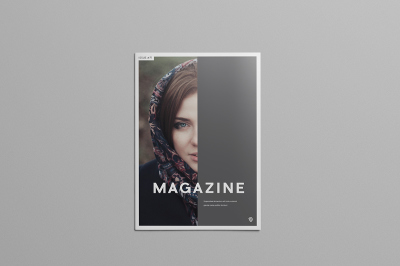 FREE magazine template by Wassim