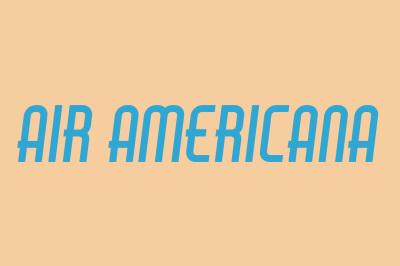 FREE Air Americana Font