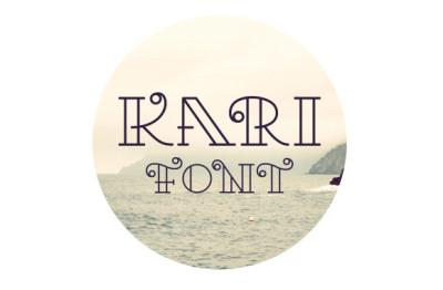FREE Kari Font