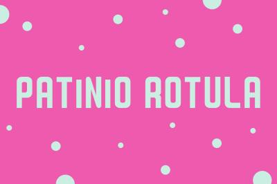 Free Patinio Rotula Font