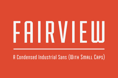 FREE Fairview Font
