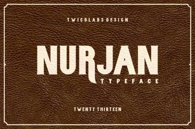 Free Font: Nurjan Typeface