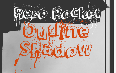 FREE Repo Pocket Outline Shadow