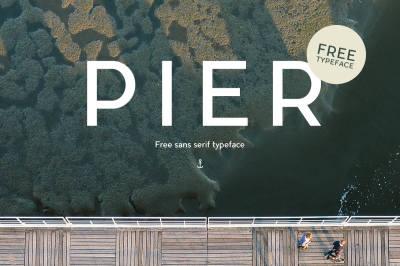 Free Font: Pier Typeface