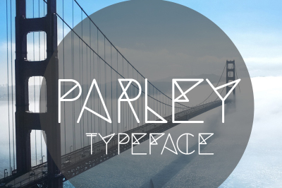 Free Font: Parley Typeface