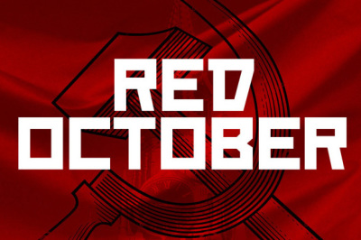 FREE Red October font