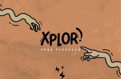 Free Font: Xplor Typeface