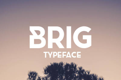 Free Font: Brig Typeface
