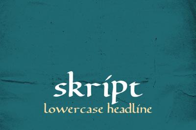 FREE skript Typeface