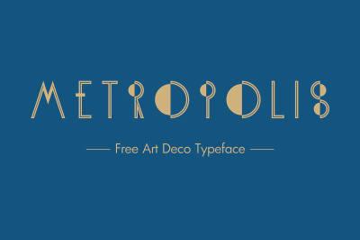 Free Font: Metropolis