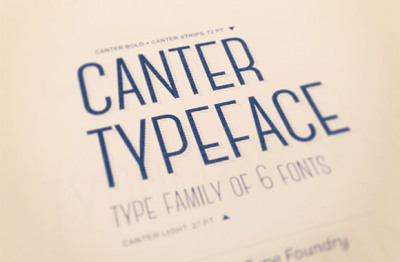 FREE Canter Typeface