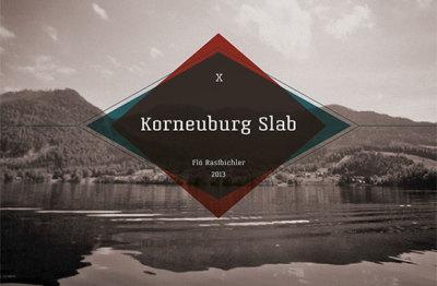 FREE Korneuburg Slab font