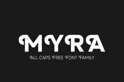 FREE Myra Font