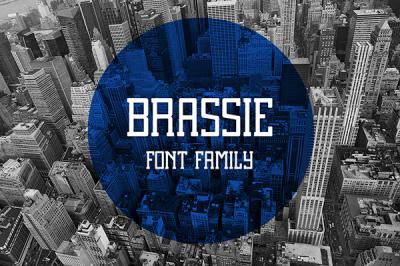 FREE Brassie Font (regular)
