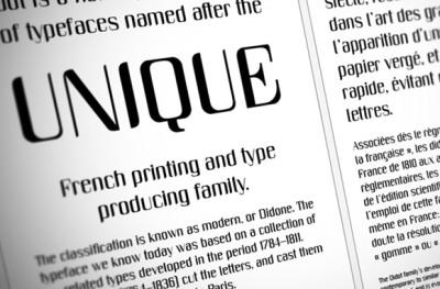 FREE Unique Font
