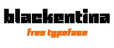 FREE Blackentina Font