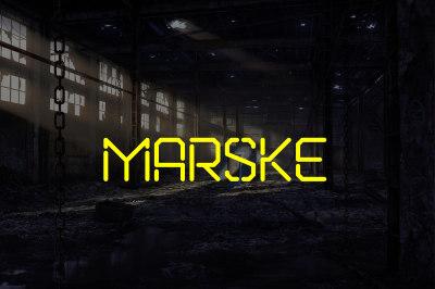 FREE Marske Font