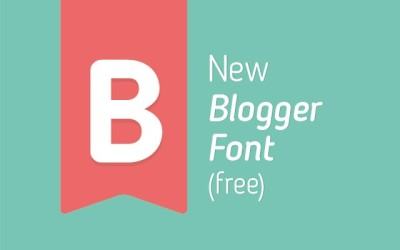 FREE Blogger Sans font