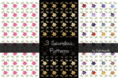 3 Seamless Patterns