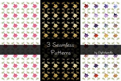 3 Seamless Patterns