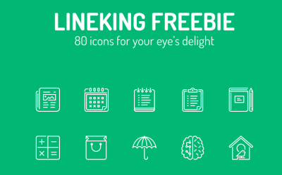 FREE LineKing Icon pack