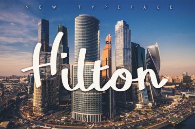 FREE Hilton Typeface